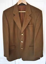 DAKS Jermyn St. Vintage Blazer / Jacket - Brown - 90% Wool & 10% Cashmere - R 40