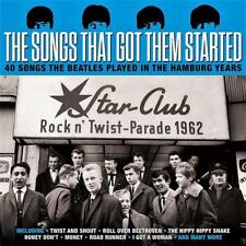 THE SONGS THAT GOT THEM STARTED - 40 SONGS THE BEATLES PLAYED (NEW SEALED 2CD)