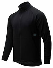 New Balance Men's Q Speed Run Crew Jacket Black