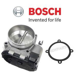 For Porsche 911 GT3 RS Set of 82mm Throttle Valve Assembly & Body Seal Bosch OEM