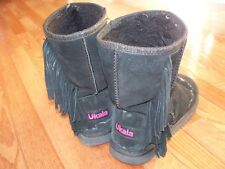 Ukala Fringes Women's Boots, Size 7, Pre-owned