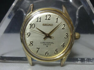 Vintage 1976 SEIKO mechanical watch [Lord Marvel 36000] 23J 5740-8000 Cal.5740C