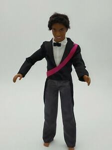 1991 Mattel Barbie Collection African-American Black Ken Doll w Tux, ribbon Rare