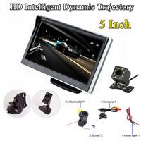 """5"""" HD LCD Wireless Parking Reverse System 8LED Backup Camera for Car Truck SUV"""