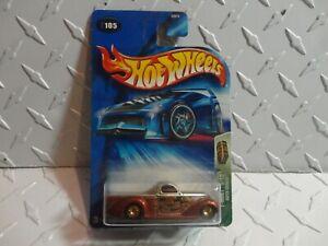2004 Caliente Rueda Treasure Hunt #105 Cobre Súper Liso Camión Con / Real Riders