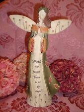 "ANGEL OF FRIENDSHIP FIGURINE, 9 3/4"""