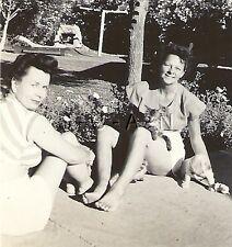 Org Vintage 1930s-40s Large RP- Dog- Puppy- Cocker Spaniel- Cat- Women- Shorts