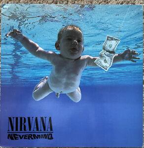 Nirvana Nevermind DGC 24425 Vinyl LP Record Excellent 1991 Geffen Pressing