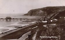 RPPC,Shanklin,Isle of Wright,View Looking South Pier,Used,Shanklin,1909