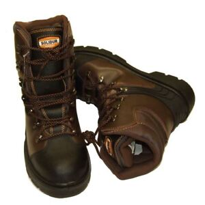 Chainsaw Forestry Boots Solidur Aborist Class1 Protection Sizes 6 - 12