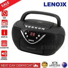 Lenoxx CD815 Cd Player and Cassette Player