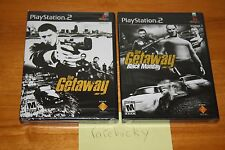 The Getaway & Black Monday (PS2 Playstation 2) NEW SEALED MINT BLACK LABEL SET!