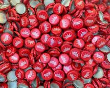 500 ((Red Budweiser Crown)) Beer Bottle Caps Fast Shipping Great Value