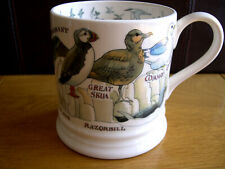EMMA BRIDGEWATER SEA BIRDS MUG 1 PINT PUFFIN GULL TERN GUILLEMOT FULMAR SKUA NEW
