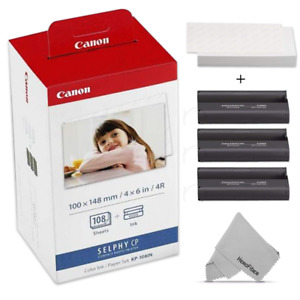 Canon KP-108IN / KP108 Color Ink Paper includes 108 Ink Paper sheets