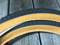 OLD SCHOOL BMX SNAKEBELLY TIRES HWA FONG HFR NOS 20X2.125 OLDSCHOOL BMX 20 INCH