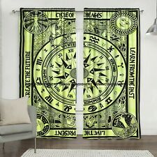 Wonderful Design Wall Hanging Door Window Curtain Tapestry Cycle Of The Ages Art