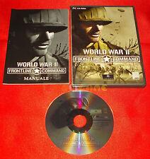 WORLD WAR II 2 FRONTLINE COMMAND Pc Versione Ufficiale Italiana ○○ COMPLETO - DG