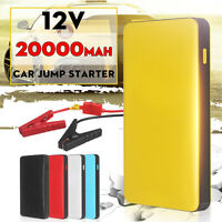20000mAh 12V Car Jump Starter Booster Charger Battery Smartphone Power Bank