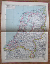 Niederlande Netherlands - alte Landkarte Karte old map 1928