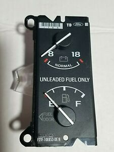 92-96 Ford Bronco Pickup Fuel Gauge Battery Voltage F150 250 350 Truck 1992-1996
