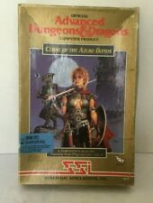"""SSI Advanced Dungeons & Dragons CURE OF THE AZURE BONDS for PC 3.5"""" disks AD&D"""
