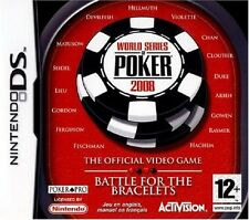 WORLD SERIES OF POKER  2008                  -----   pour DS