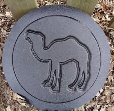 camel plaque plastic mold  plaster concrete abs animal casting mould