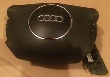 AUDI A2 2000 2005 A2 MULTIFUNCTIONAL STEERING WHEEL MULTI FUNCTION BLACK AIRBAG