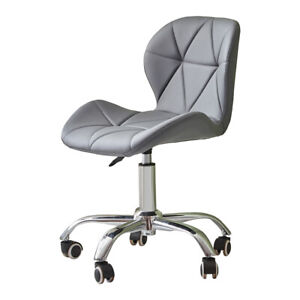Mesh/Faux Leather Computer Chair Office Chair Swivel Lift Cushioned Adjustable