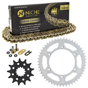 Sprocket Chain Set for Husqvarna TE250 13/50 Tooth 520 X-Ring Front Rear Kit