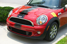 "All YR Mini Cooper 11"" Racing Center Rally stripes Stripe Graphics Fit All Model"