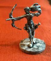 17/45 tlc '14 elf archer ranger plastic w/sword bow female d&d wotc mini fig !!