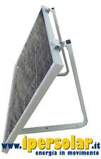 Supporto pannello solare fotovoltaico 45° max 180W staffa tetto piano