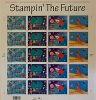 # 3414-3417 ~ Full Pane of 20 stamps ~ 33 cent Stampin' The Future