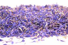 Bleu Bleuet pétales, infusion de thé gâteau décoration cuisson Gin coctail Garni...