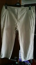 Peacocks Ladies 3/4 length trousers size 12
