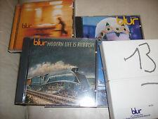 BLUR CD COLLECTION PARKLIFE MODERN ESCAPE 13 BLUR LEISURE