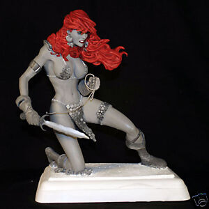 ADAM HUGHES RED SONJA STATUE AP  ARTIST PROOF   lim.120 Ex.