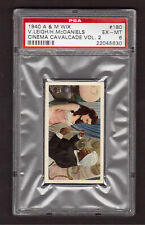Gone With The Wind GWTW Vivien Leigh 1940 Cinema Cavalcade Card #180 PSA 6 EX-MT