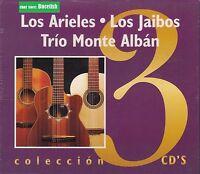 Los Arieles,Los Jaibos,Trio Monte Alban  Box set 3CD New Nuevo sealed