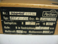 Mahr Federal Perthen RFHTB-50 6 11 04 62 Profilometer Stylus DU8