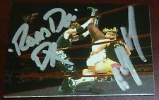 New Age Outlaws Billy Gunn & Road Dogg Signed 2000 Comic Images Card WWE PSA/DNA