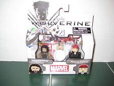 Marvel Minimates Wolverine and Ninja Yukio Exclusive The Wolverine