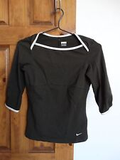 Nike women's 3/4 sleeve casual athletic top shirt size XS (0-2)