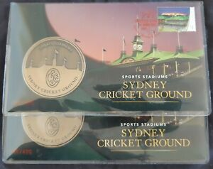 number 355 or 356  2019 Sydney Stamp & Coin Expo Sydney Cricket Ground Day 4 PNC