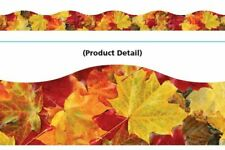 Autumn Leaves Classroom Display Board Trimmers 12m Pack