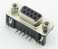 Connecteurs DB9 90° RS-232 femelle à souder CI connecteur 9 Pin D-sub de France