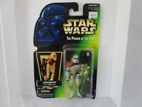 STAR WARS THE POWER OF THE FORCE NIP  SANDTROOPER WITH HEAVY BLASTER RIFLE