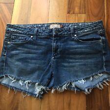 Paige Premium Denim Cut Off Shorts, Benedict Canyon, size 31